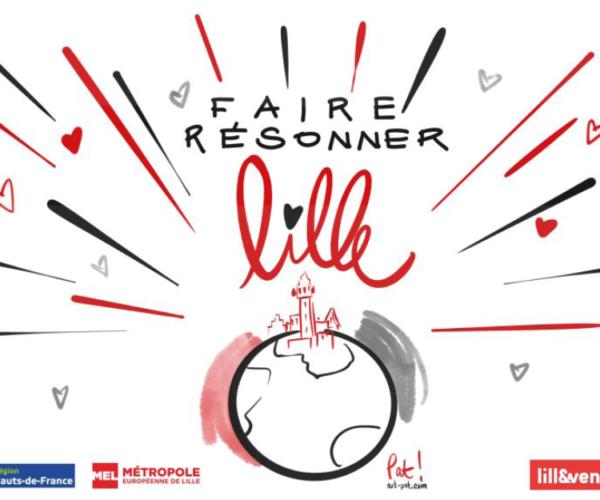 Lille Events soutenu par la Métropole Européenne de Lille (MEL) & la Région Hauts-de-France !